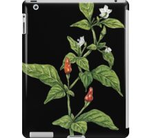 Chilly plant iPad Case/Skin