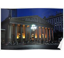 Catedral Metropolitana,Neoclásica de Bnos- Aires. Argentina Poster