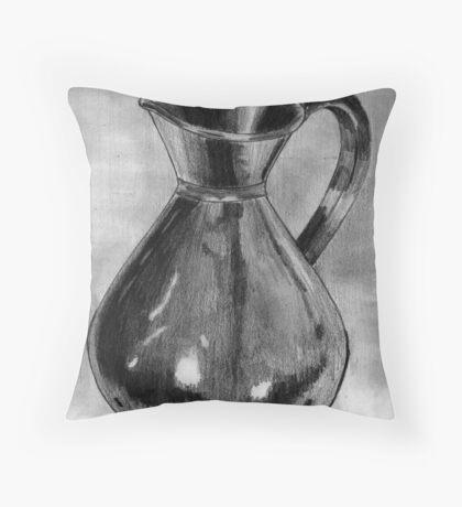The Copper Pot Throw Pillow