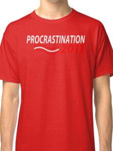 Vote Procrastination Classic T-Shirt
