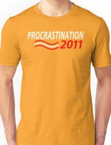 Vote Procrastination Unisex T-Shirt