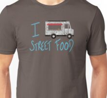 I Love Street Food Unisex T-Shirt