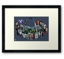 Defiance Legacy Framed Print