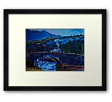 Somewhere in Donegal, painted from a photo by Jane McLaughlin Framed Print