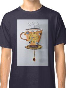 Teacup Clock Classic T-Shirt