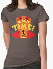 IIIITTTTT'SSS MAGIC TIME! Womens Fitted T-Shirt