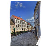 Cobbled streets Poster