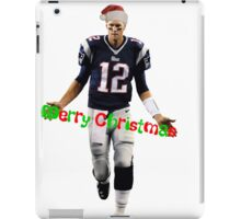Tom Brady Christmas iPad Case/Skin