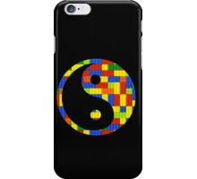 Brick yin and yang iPhone Case/Skin