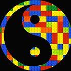 Brick yin and yang by Addison
