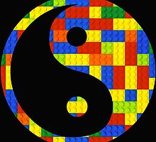 Brick yin and yang by Addison