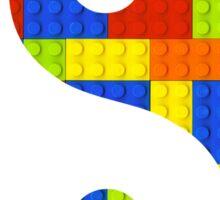 Brick yin and yang Sticker