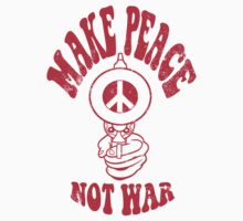 Make Peace Not War logo by drawgood