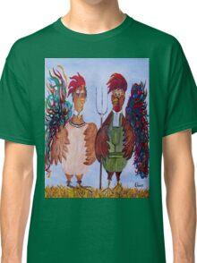 American Gothic - Down on the Farm Classic T-Shirt