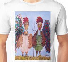 American Gothic - Down on the Farm Unisex T-Shirt
