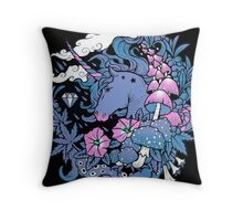 - Magical Unicorn - Throw Pillow