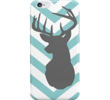 Mint Moose Chevron iPhone Case/Skin