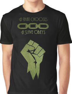 BioShock - A man Chooses Graphic T-Shirt
