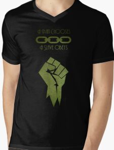 BioShock - A man Chooses Mens V-Neck T-Shirt
