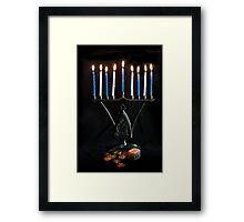 Hanukkah, The Festival of Lights Framed Print