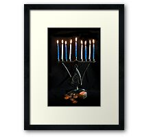 Hanukkah, The Festival of Lights Framed Print