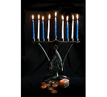 Hanukkah, The Festival of Lights Photographic Print