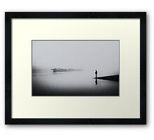 One hundred years of solitude Framed Print