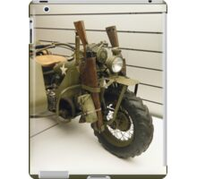 Harley Davidson army motorcycle iPad Case/Skin