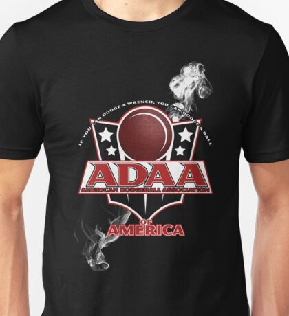 american dodgeball association... of america Unisex T-Shirt