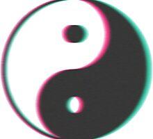 3D Yin Yang by e1iza