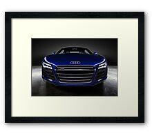 Audi R8 V10 Framed Print