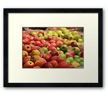 Apples Framed Print
