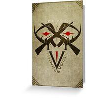 EYE-IV-EYE Greeting Card