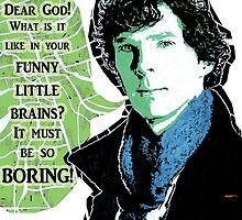 Sherlock - It Must Be So Boring by 8thDimension