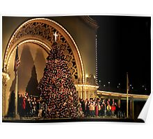 California Christmas Celebration Poster