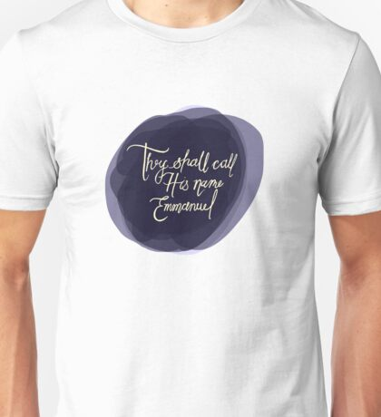 Emmanuel Unisex T-Shirt