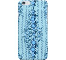 Blue blossom garden party iPhone Case/Skin