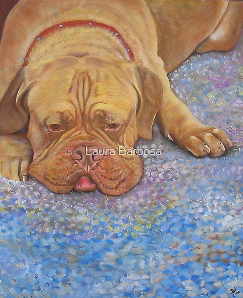 Bordeaux Dog by Laura Barbosa