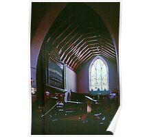 Scissors Truss roof Holy Trinity Church 1861 Maldon 19900910 0007 Poster