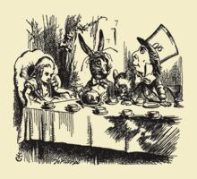 The Mad Hatter's Tea Party by LettuceLeaf