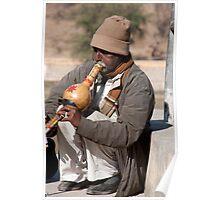 Gourd Musician Poster