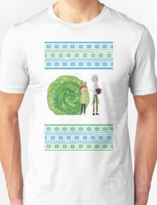 Merry Rickmas! Unisex T-Shirt