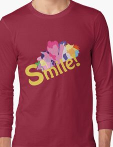 Smile! with Pinkie Pie Long Sleeve T-Shirt