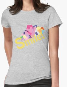 Smile! with Pinkie Pie Womens Fitted T-Shirt