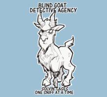 BLIND GOAT DETECTIVE AGENCY Kids Tee