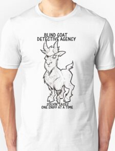 BLIND GOAT DETECTIVE AGENCY T-Shirt