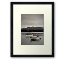float your boat  Framed Print