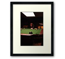 Pool Snooker Framed Print