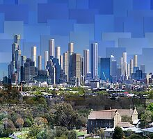 Melbourne 2064 AD: Skyline by thescatteredimage