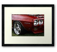 Firebird Custom Car Framed Print